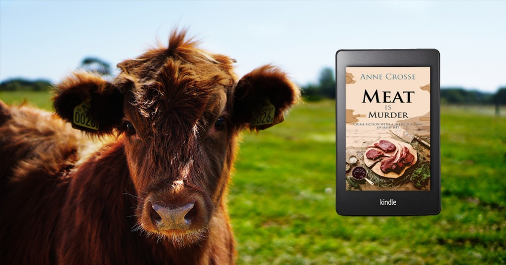 Meat is murder by Anne Crosse