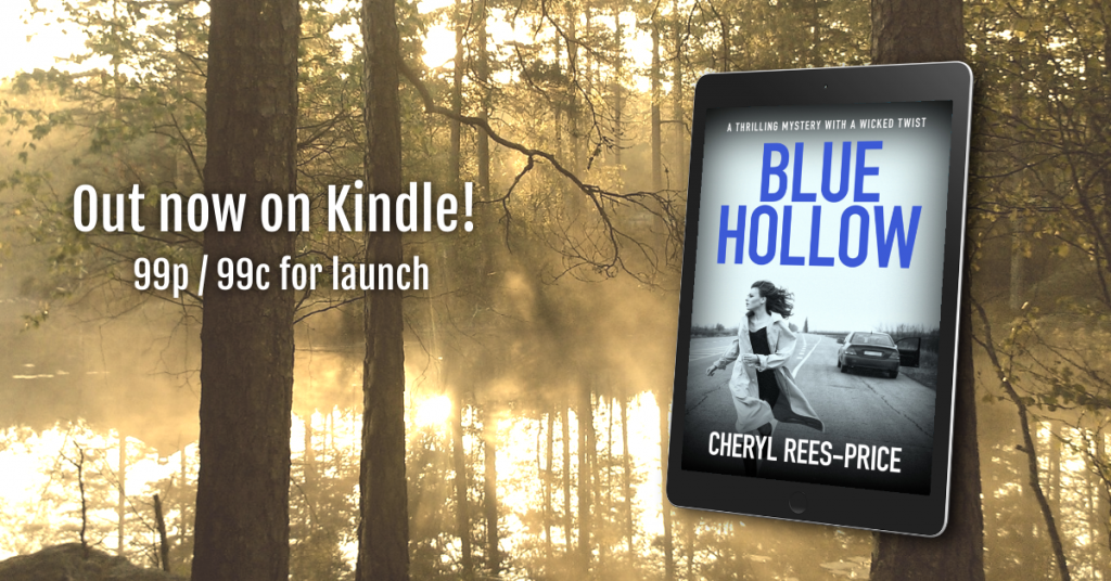 Welsh thriller Blue Hollow by Cheryl Rees-Price
